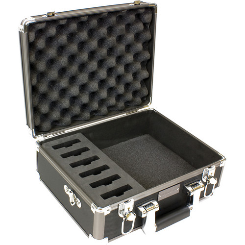 Williams Sound CCS 029 DW Digi-Wave System Carrying Case for 6 DLT 100/DLR 50
