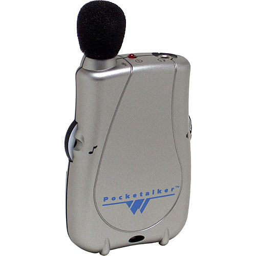 Williams Sound PKT D1-0 - Pocketalker Ultra Personal Amplifier