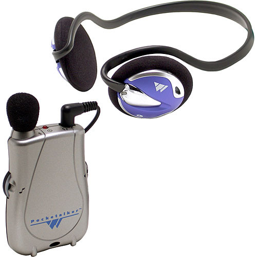 Williams Sound PKT D1-H26 - Pocketalker Ultra Personal Amplifierwith HED 026 Behind-the-Neck Headphone