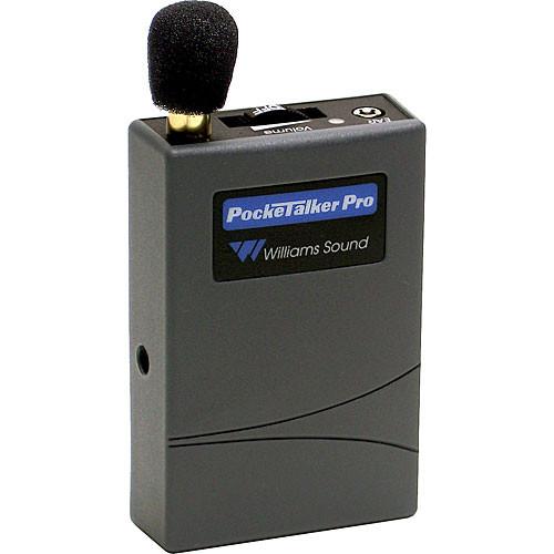 Williams Sound PKTPRO10 - Pocketalker Pro Personal Amplifier System