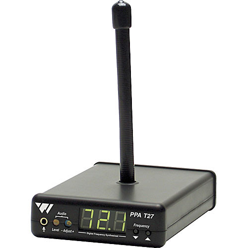 Williams Sound PPAT27 - Compact Base Station FM Transmitter