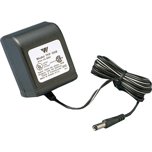 Williams Sound TFP008 - 110VAC/12VAC Power Supply for T27, IC-1, TEL040