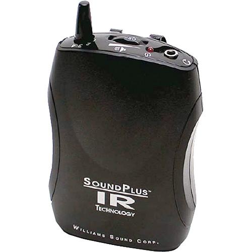Williams Sound WIR RX22-4N Infrared 4 Channel Bodypack Listening Receiver (2.3 - 3.8MHz)