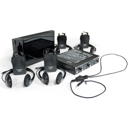 Williams Sound WIRSYS1 - Two-Channel Sound Plus IR Listening System for 4 Users