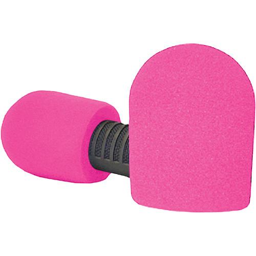 """WindTech 20/421 Series Windscreens for 1-7/8"""" Diameter Microphones (Neon Pink)"""