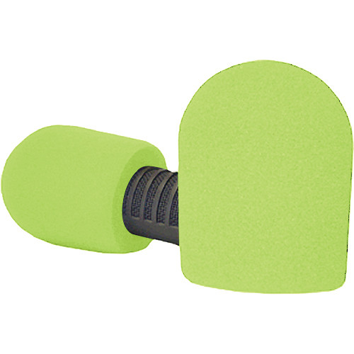 "WindTech 20/421 Series Windscreens for 1-7/8"" Diameter Microphones (Neon Yellow)"