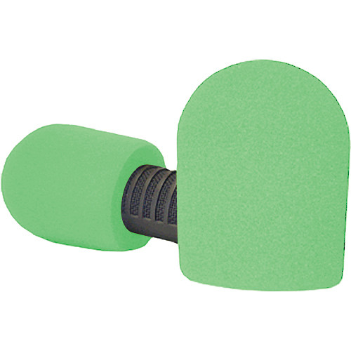 "WindTech 20/421 Series Windscreens for 1-7/8"" Diameter Microphones (Neon Green)"