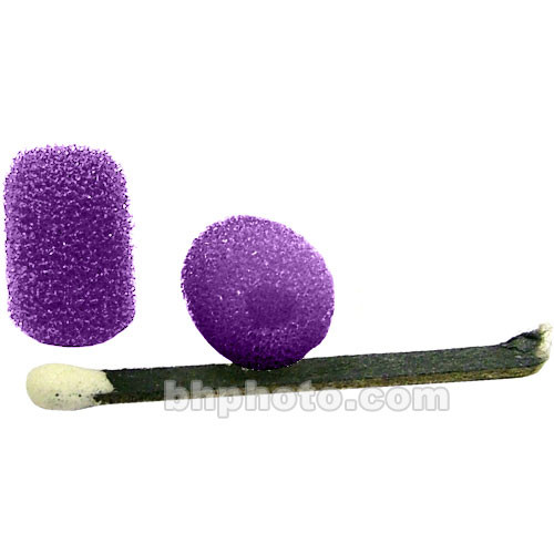 "WindTech Foam Windscreen 1/8"" (Purple)"