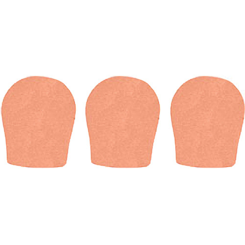 "WindTech 300 Series Windscreens for 1-3/8"" Diameter Microphones (3 Pack, Apricot)"