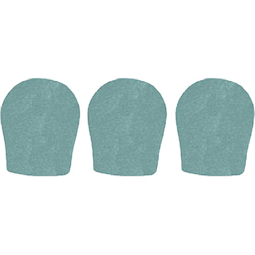 "WindTech 300 Series Windscreens for 1-3/8"" Diameter Microphones (3 Pack, Sea Green)"