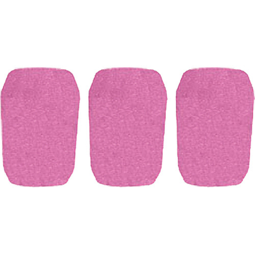 "WindTech 5700 Series Windscreens for 1"" Diameter Microphones (3 Pack, Mauve)"