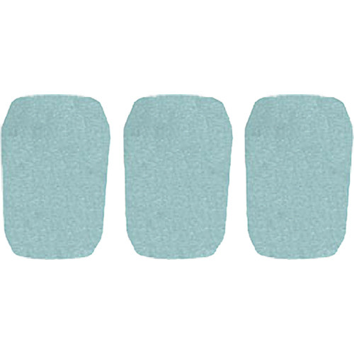 "WindTech 5700 Series Windscreens for 1"" Diameter Microphones (3 Pack, Sea Green)"