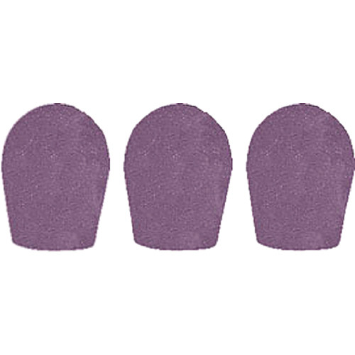 "WindTech 600 Series Windscreens for 1"" Diameter Microphones (3 Pack, Grey)"