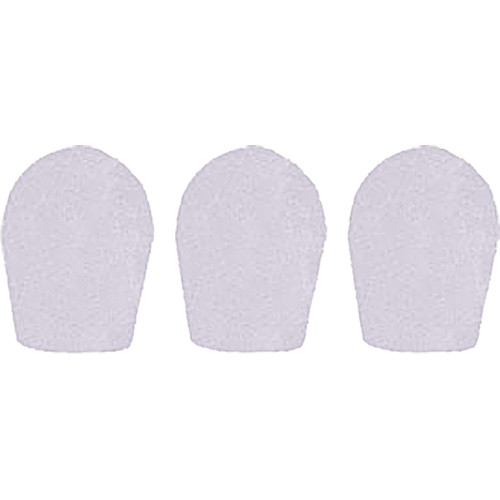 "WindTech 600 Series Windscreens for 1"" Diameter Microphones (3 Pack, White)"