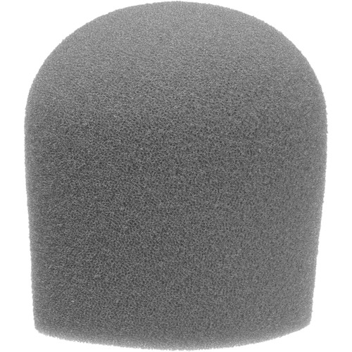 "WindTech 900 Series Microphone Windscreen - 1-5/8"" Inside Diameter (Grey)"