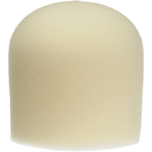 "WindTech 900 Series Microphone Windscreen - 1-5/8"" Inside Diameter (Off White )"