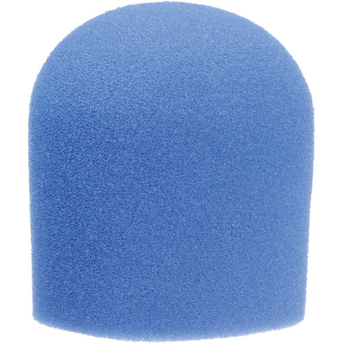 "WindTech 900 Series Microphone Windscreen - 1-5/8"" Inside Diameter (Royal Blue )"