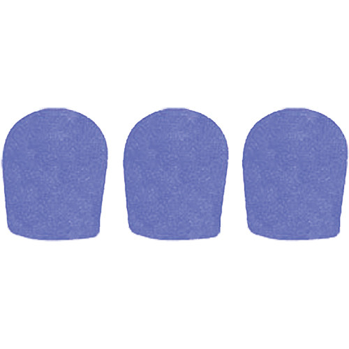 "WindTech 900 Series Windscreens for 1-5/8"" Diameter Microphones (3 Pack, Royal Blue)"