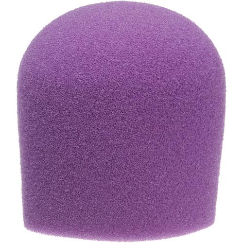 "WindTech 900 Series Microphone Windscreen - 1-5/8"" Inside Diameter (Purple)"
