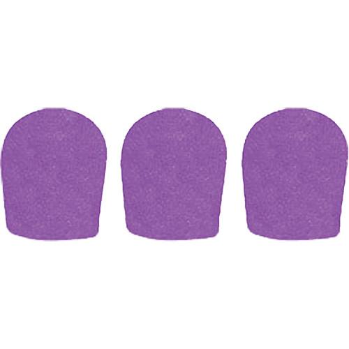 "WindTech 900 Series Windscreens for 1-5/8"" Diameter Microphones (3 Pack, Purple)"