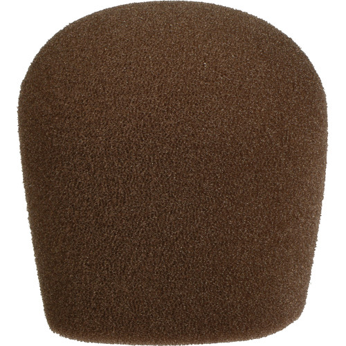 "WindTech 900 Series Microphone Windscreen - 1-5/8"" Inside Diameter (Brown)"