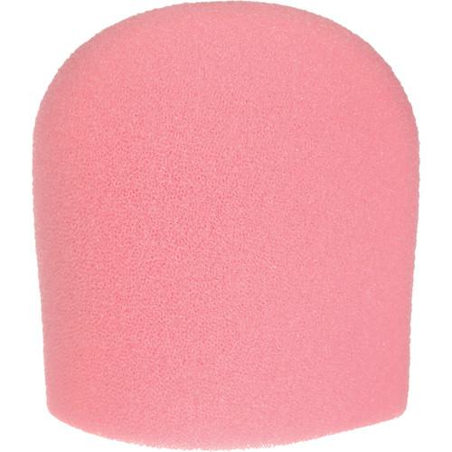"WindTech 900 Series Microphone Windscreen - 1-5/8"" Inside Diameter (Pink)"