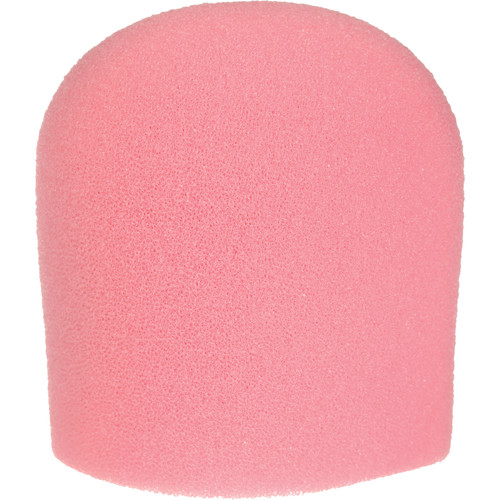 "WindTech 900 Series Microphone Windscreen - 1-5/8"" Inside Diameter (Pink)"