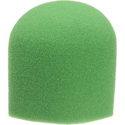 "WindTech 900 Series Microphone Windscreen - 1-5/8"" Inside Diameter (Green)"