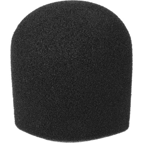 "WindTech 900 Series Windscreen - 1-5/8"" Inside Diameter - Black"