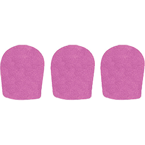 "WindTech 900 Series Windscreens for 1-5/8"" Diameter Microphones (3 Pack, Mauve)"
