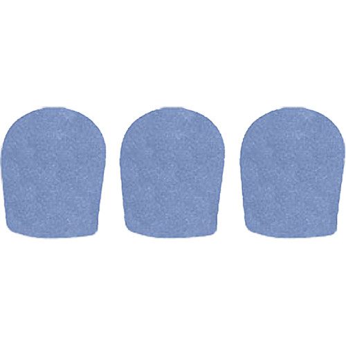 "WindTech 900 Series Windscreens for 1-5/8"" Diameter Microphones (3 Pack, French Blue)"