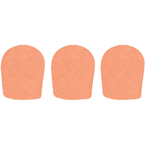 "WindTech 900 Series Windscreens for 1-5/8"" Diameter Microphones (3 Pack, Apricot)"