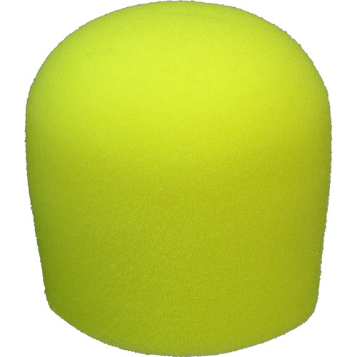 "WindTech 900 Series Microphone Windscreen - 1-5/8"" Inside Diameter (Neon Yellow )"