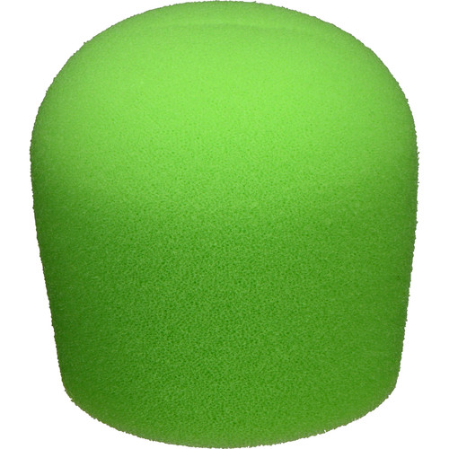 "WindTech 900 Series Microphone Windscreen - 1-5/8"" Inside Diameter (Neon Green )"