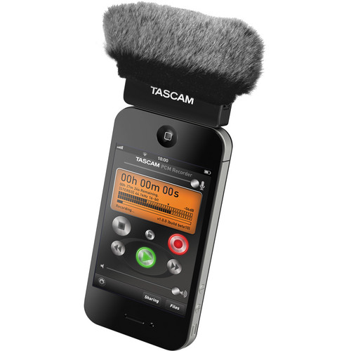 WindTech MM-53 Mic-Muff for Tascam IM2