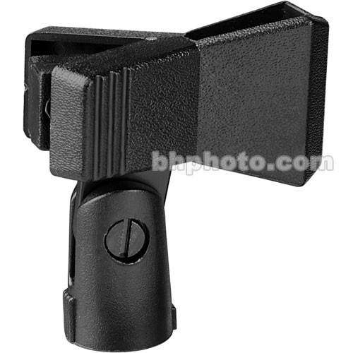 WindTech Universal Spring Type Microphone Clip (Black)