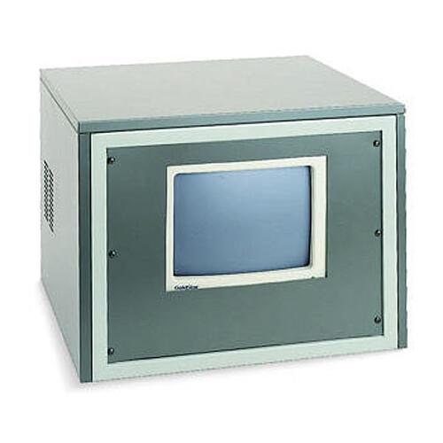 """Winsted 10989  19.25""""  (11U) Monitor Mask without Cutout (Black)"""