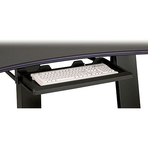 Winsted 46250 Formed Black Plastic Pullout Keyboard Tray