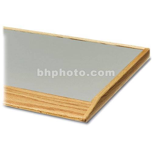 "Winsted 90&deg-Corner Shelf with 3"" Beveled Oak Front"