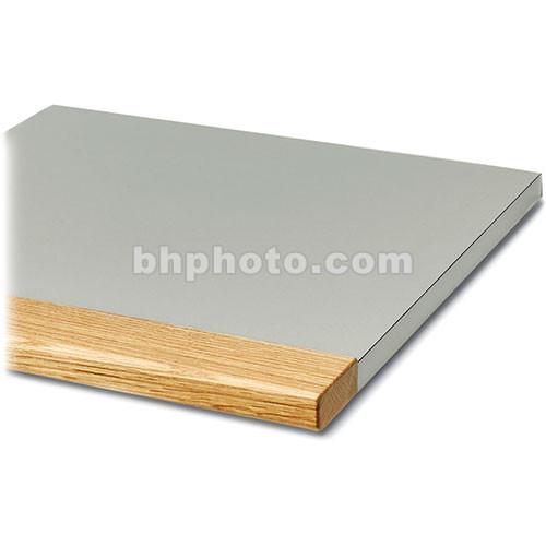 "Winsted 90&deg  Corner Shelf with 3"" Block Oak Front (18"" Deep)"