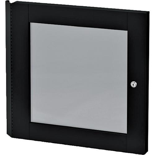Winsted 88354 - Lift-Off Locking Plexiglass Door for 14U Racks (Black)