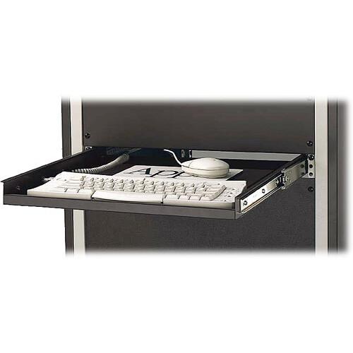 Winsted Rack Mount Keyboard Shelf (Black)