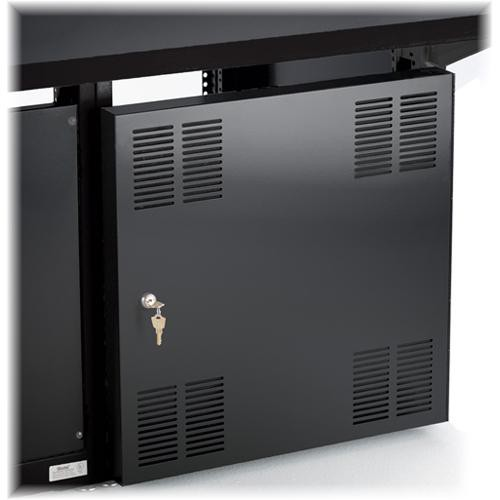 Winsted Lift-off Locking Solid Door (Black)