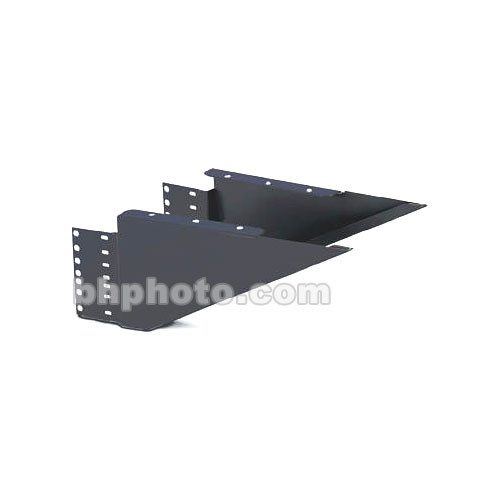 "Winsted 18""D Extra-Wide Shelf Brackets (Black)"