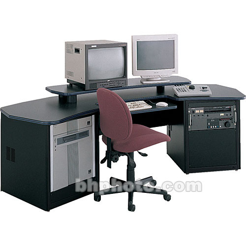 Winsted Dual Desk with Adjustable Shelf