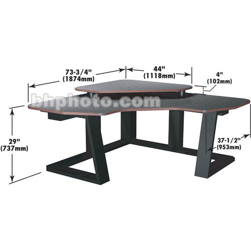 Winsted Digital Corner Workstation Editing Desk E4505 Gray)
