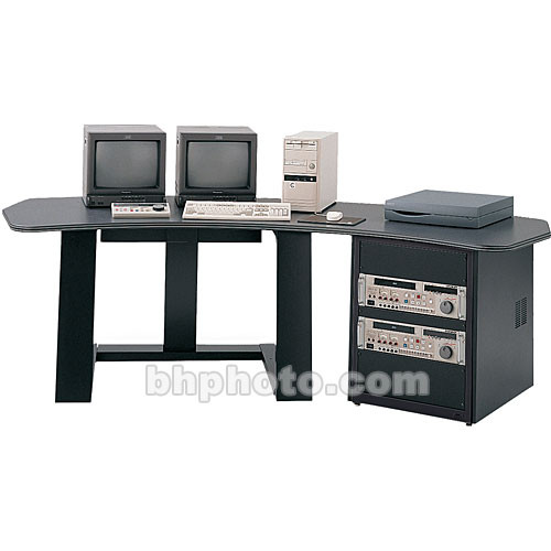 Winsted E4509 Single Pedestal Digital Desk (Gray)
