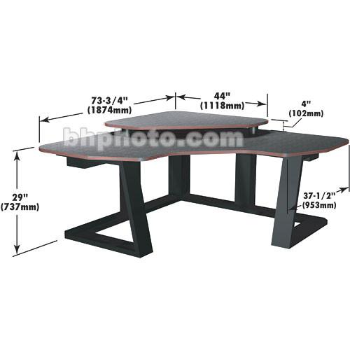 Winsted Digital Corner Workstation Editing Desk  E4515 (Black)