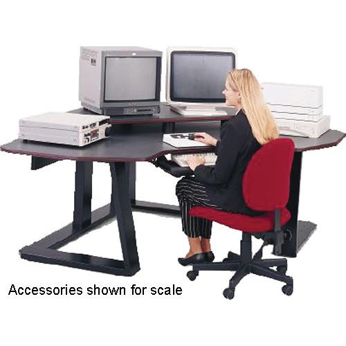 Winsted Digital Corner Workstation Editing Desk  E4525 (Red)
