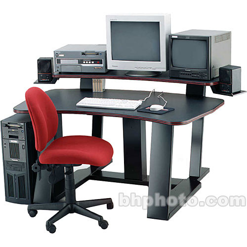 Winsted Digital Desk with Riser and Speaker Brackets